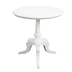 White Chapel Table - Traditional Accents