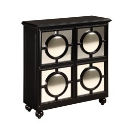 Mirage Ebony Cabinet - Traditional Accents