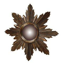 Bronze Starburst Mirror - Traditional Accents