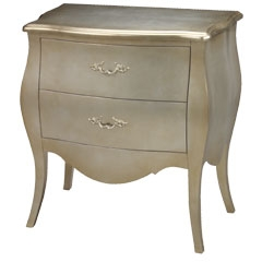 Romana Bowfront Chest - Traditional Accents