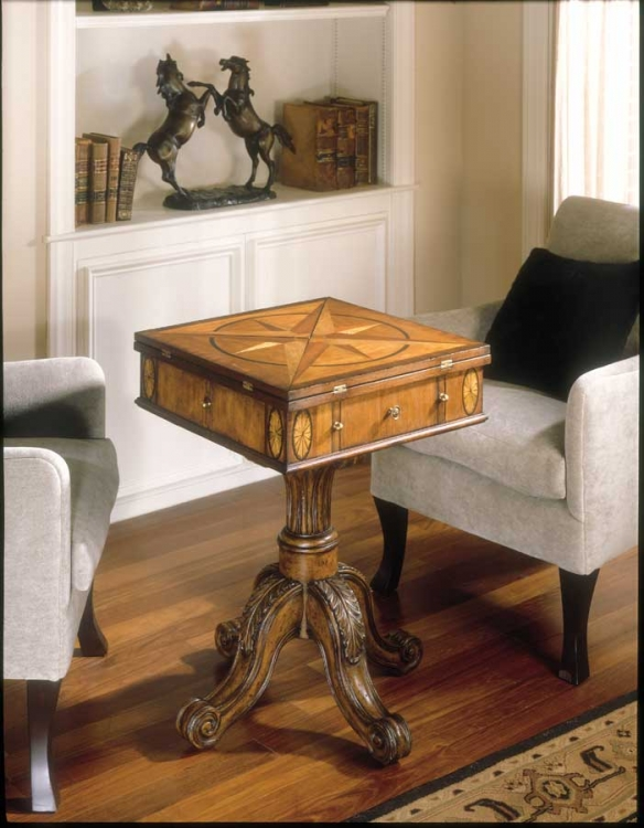 0287090 Connoisseur's Game Table - Butler