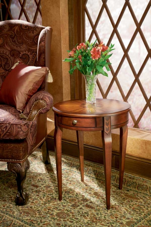 0341024 Plantation Cherry Side Table - Butler
