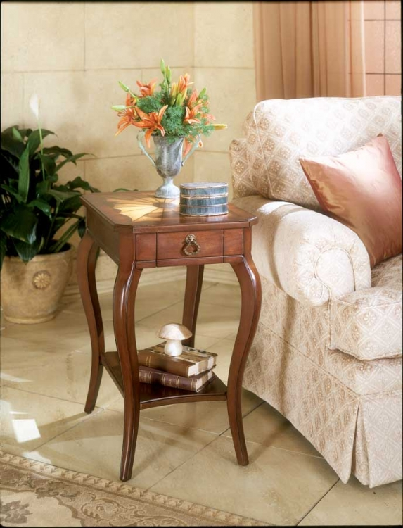 0344024 Plantation Cherry Side Table - Butler