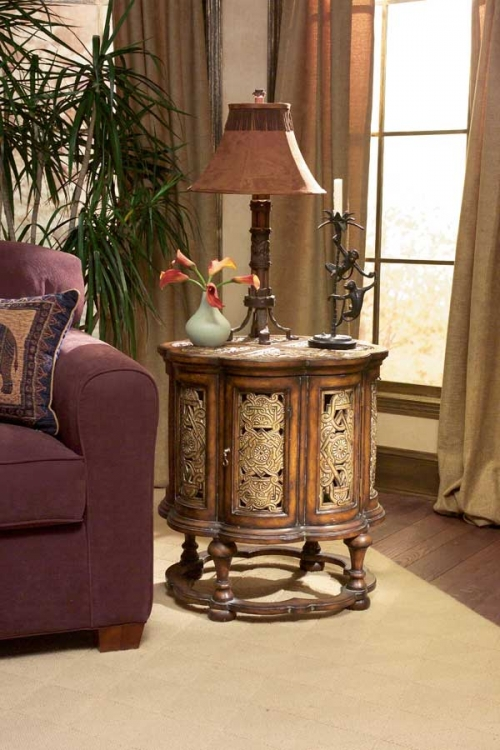 0346070 Heritage Accent Table - Butler