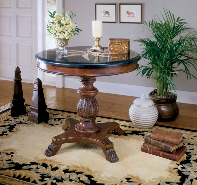 0545070 Heritage Accent Hall Table