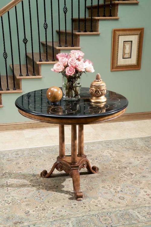 0573070 Heritage Foyer Table - Butler
