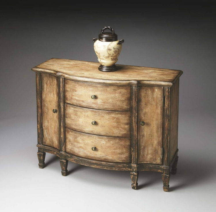 0674270 Console Cabinet - Old Spanish Mission