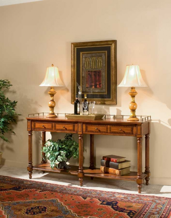 0770024 Plantation Cherry Sofa/console Table