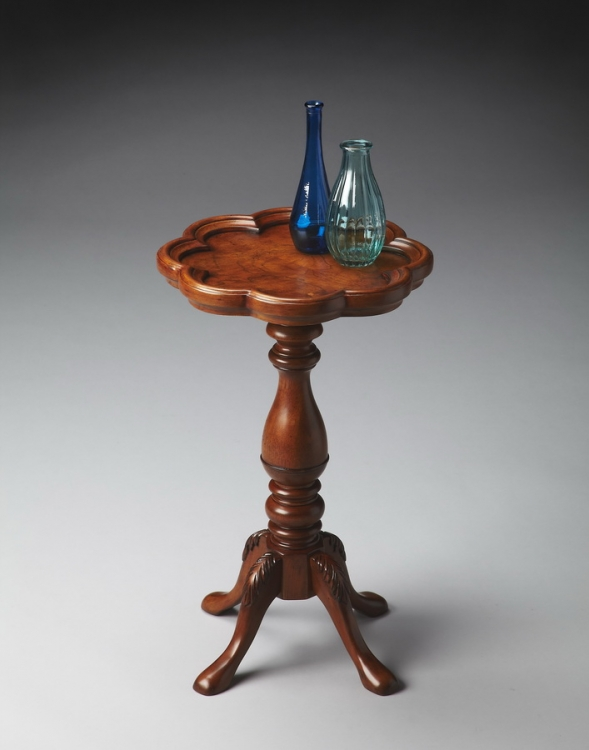 0923101 Olive Ash Burl Scatter Table