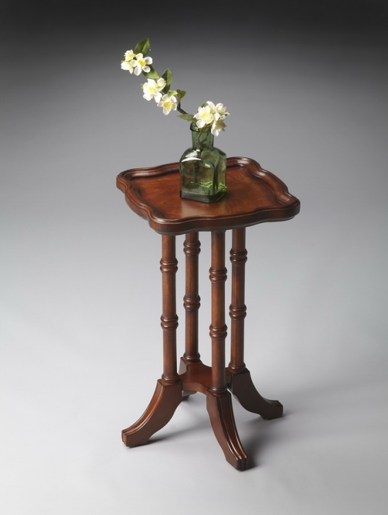 0937101 Olive Ash Burl Scatter Table - Butler