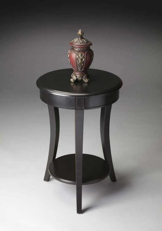 0992111 Accent Table - Black Licorice - Butler