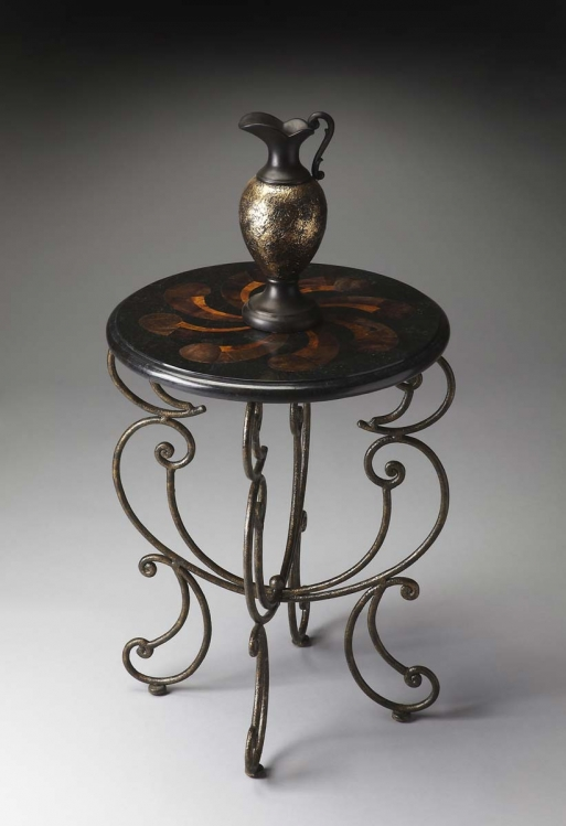 1124025 Accent Table - Metalworks - Butler