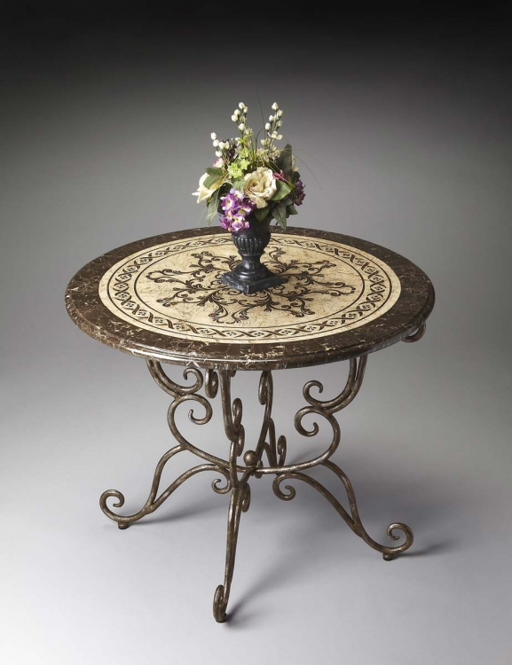 1140025 Foyer Table - Metalworks - Butler