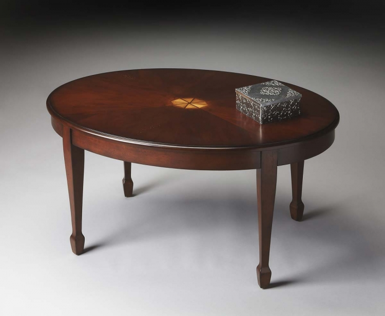 1234024 Cocktail Table - Plantation Cherry - Butler