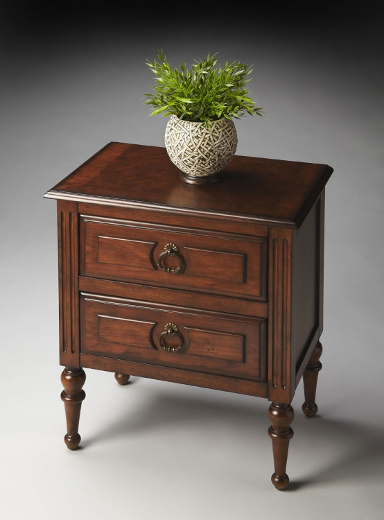 1235251 Side Table - Nutmeg