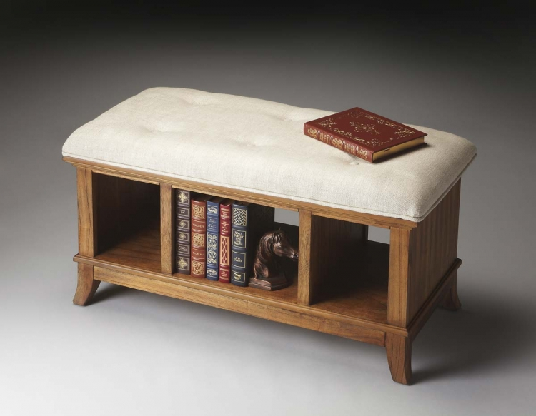 1236274 Storage Bench - Sandy Shore - Butler