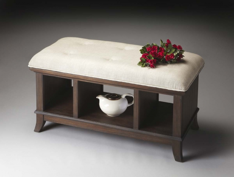 1236275 Storage Bench - Cocoa - Butler