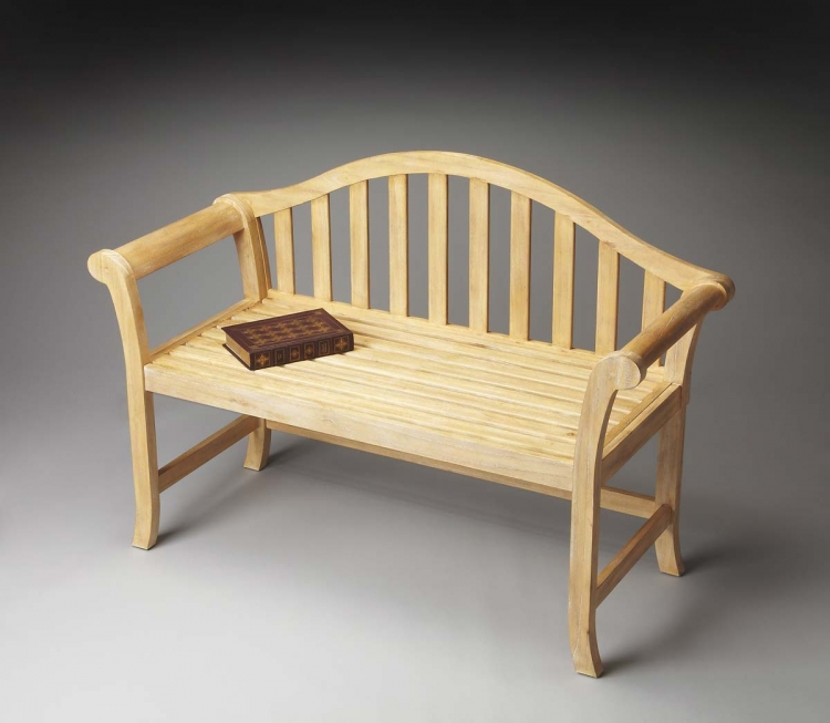 1238273 Bench - Natural Wood - Butler