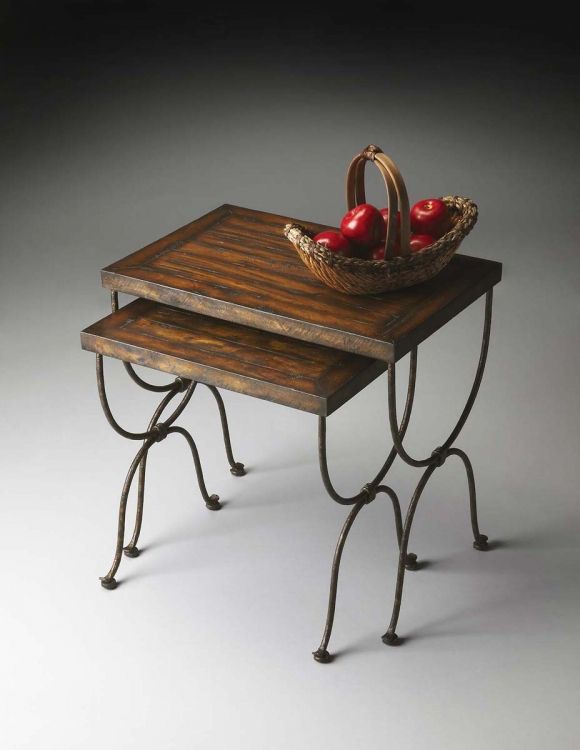 1278120 Nesting Tables - Mountain Lodge