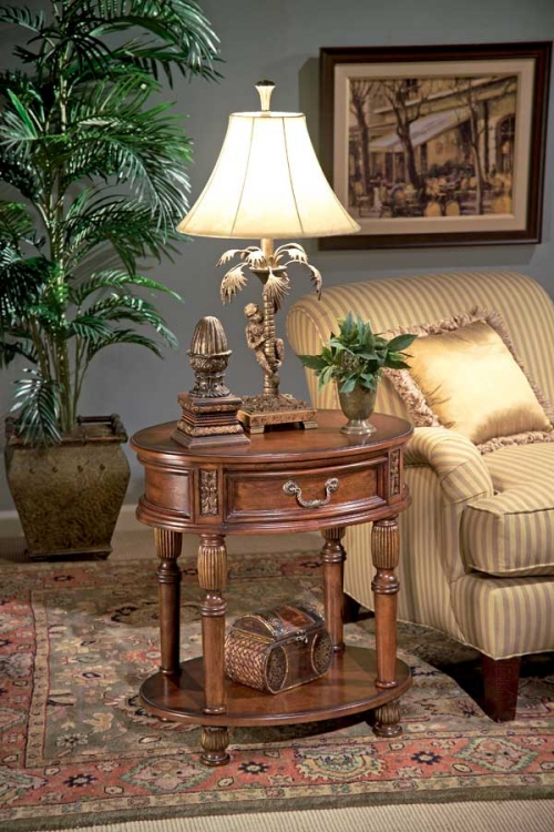 1305030 Butler Hallmark Oval Accent Table - Butler