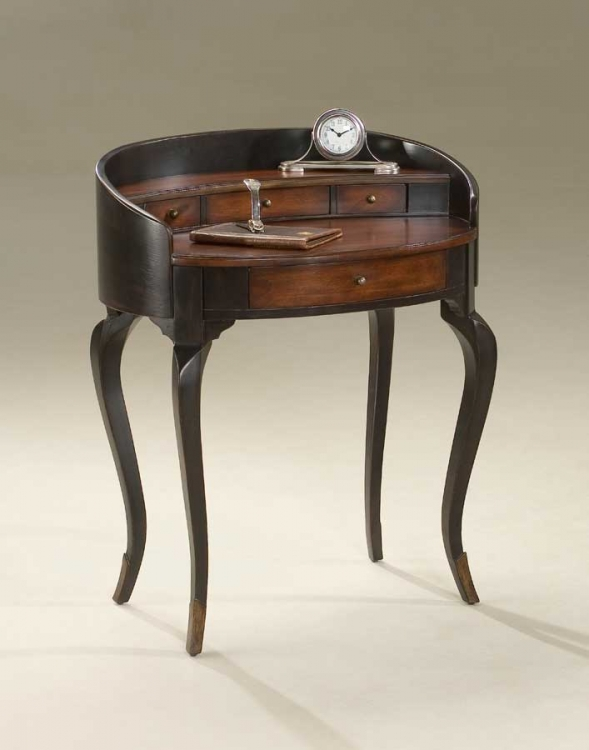 1335104 Cafe Noir Ladies Writing Desk - Butler