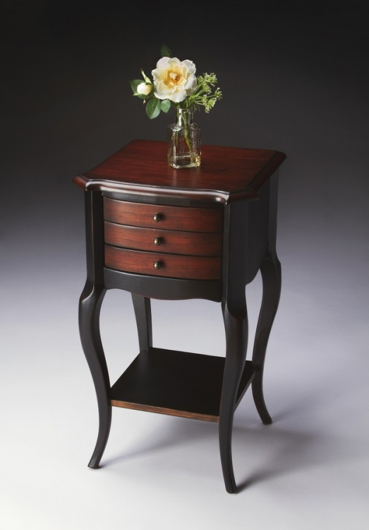 1375104 Cafe Noir Accent Table - Butler