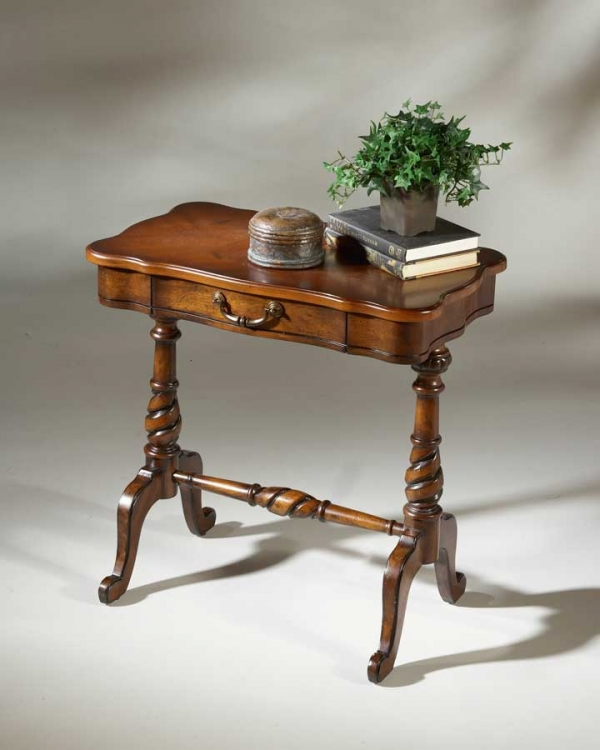 1390024 Plantation Cherry Accent Table