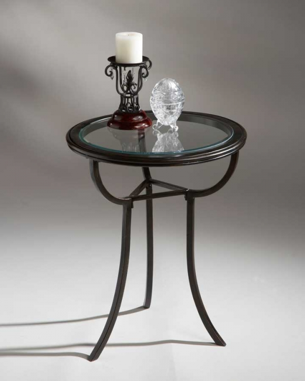 1451025 Metalworks Accent Table - Butler