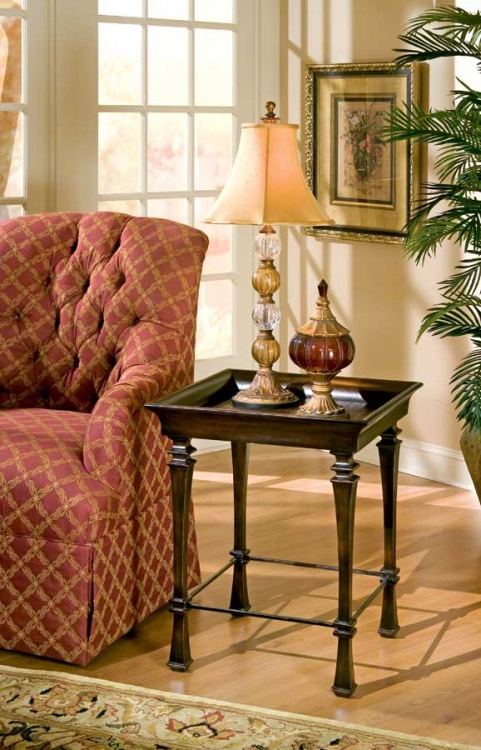 1462035 Designer's Edge Tray End Table - Butler