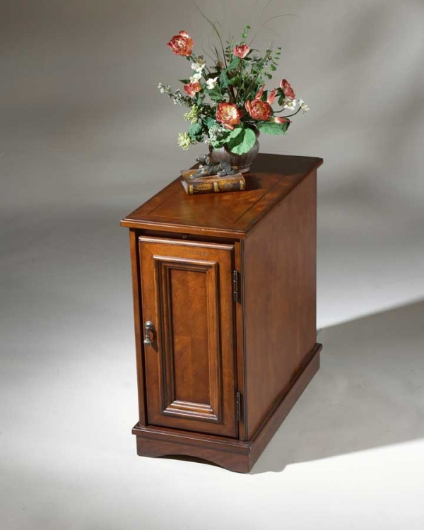 1476024 Plantation Cherry Chairside Chest - Butler