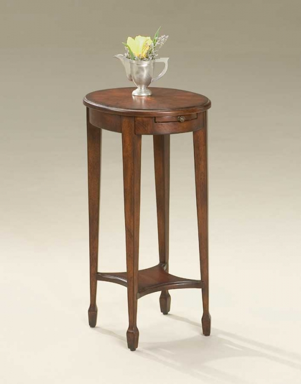1483024 Plantation Cherry Accent Table - Butler