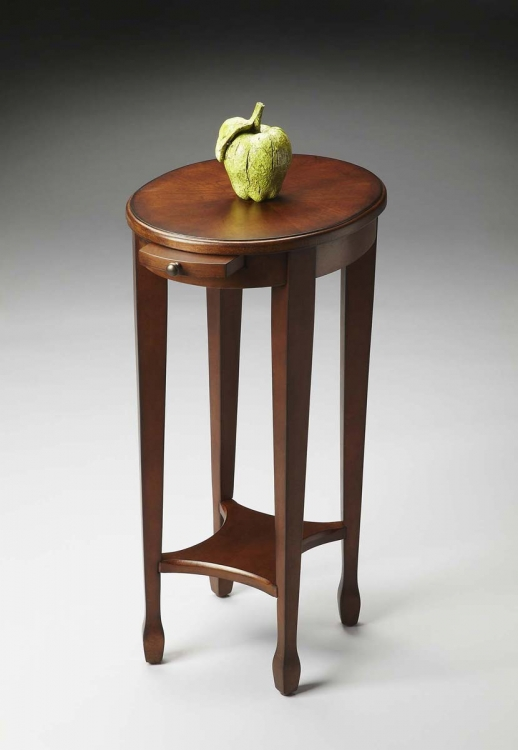 1483108 Accent Table - Chestnut Burl