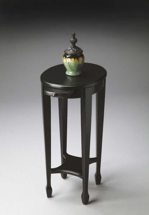1483111 Accent Table - Black Licorice