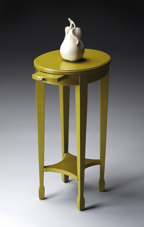 1483141 Pear Green Accent Table