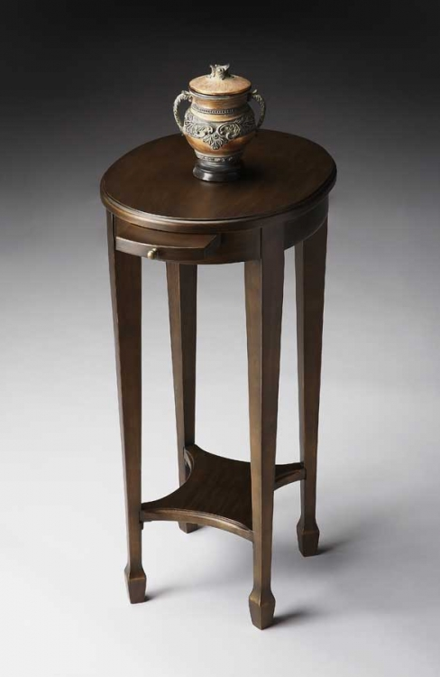 1483223 Black on Gold Accent Table