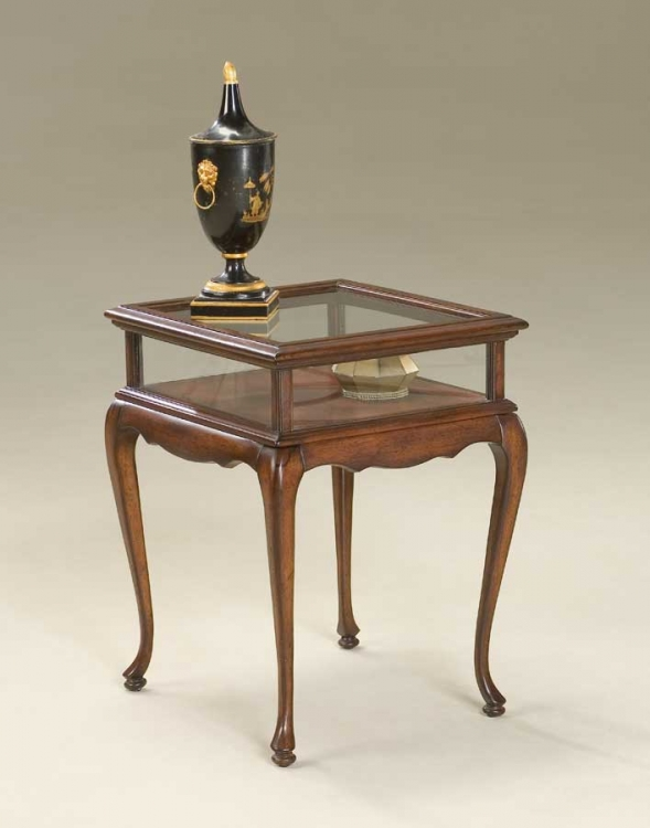 1484024 Plantation Cherry Curio Table - Butler