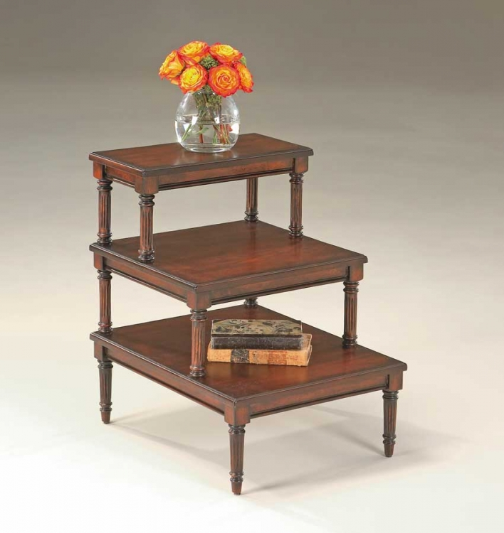 1485024 Plantation Cherry Step Table - Butler