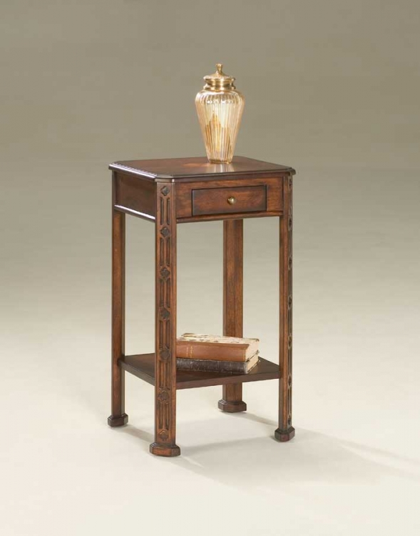 1486024 Plantation Cherry Accent Table