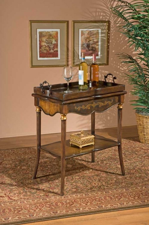 1522070 Heritage Tea Table - Butler