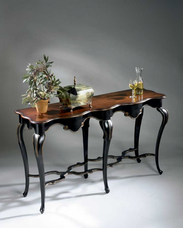 1526104 Cafe Noir Console Table
