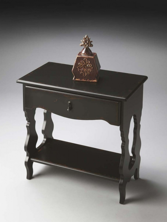 1569250 Side Table - Midnight Rose