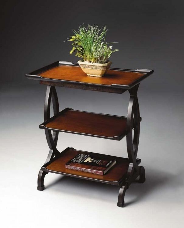 1570109 Transitional Cherry Side Table - Butler
