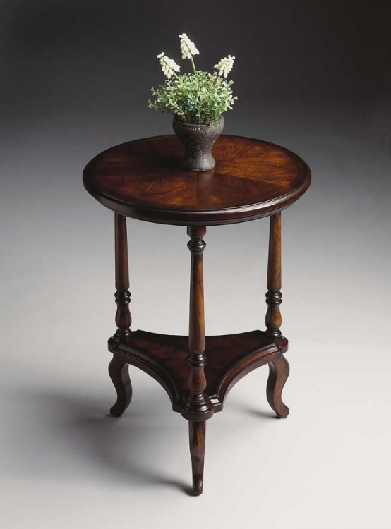 1590024 Plantation Cherry Accent Table