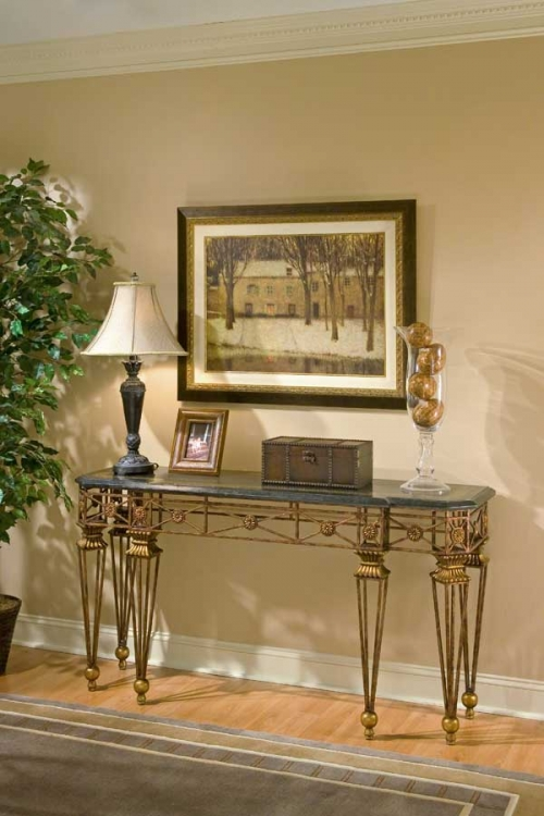 1650025 Metalworks Console Table - Butler