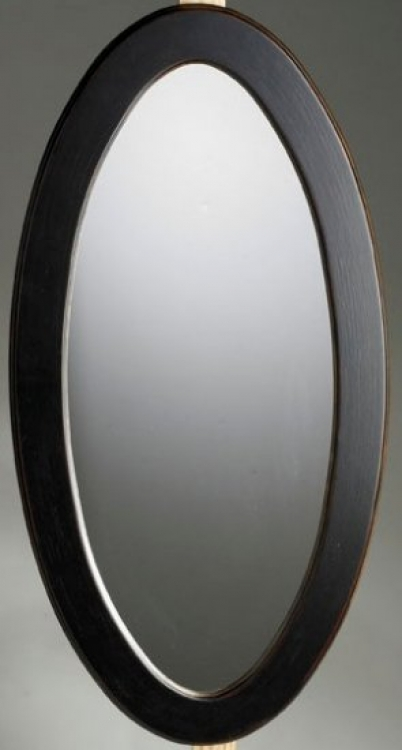 0167104 Cafe Noir Oval Mirror - Butler