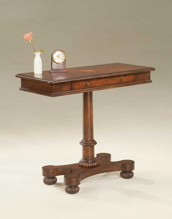 1676024 Plantation Cherry Pedestal Console Table - Butler