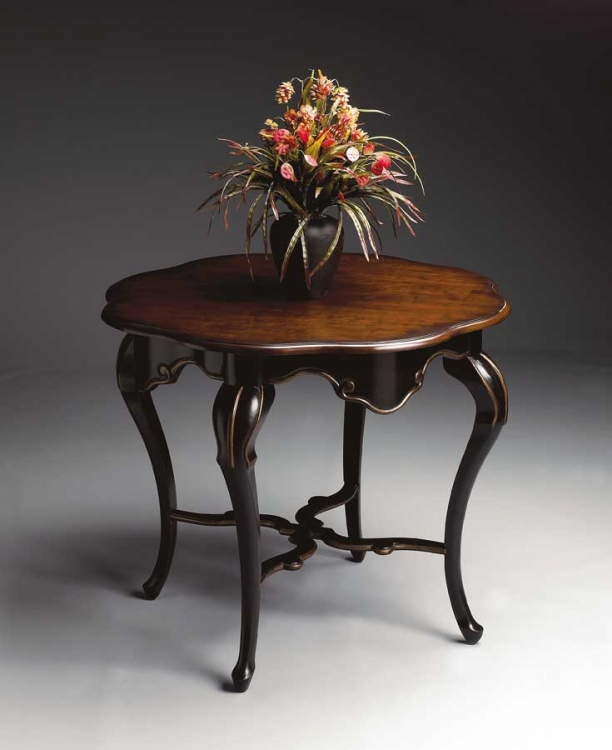 1682104 Cafe Noir Foyer Table - Butler