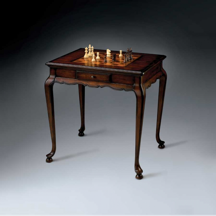 1694024 Plantation Cherry Game Table - Butler