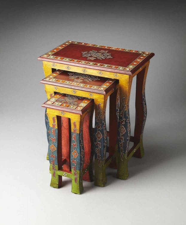 1893290 Artifacts Nesting Tables