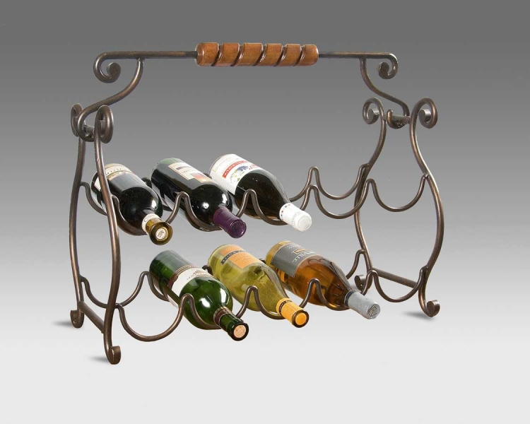 1921025 Metalworks Wine Rack - Butler